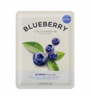 It's Skin, The Fresh Mask Sheet Blueberry, Maseczka w płacie
