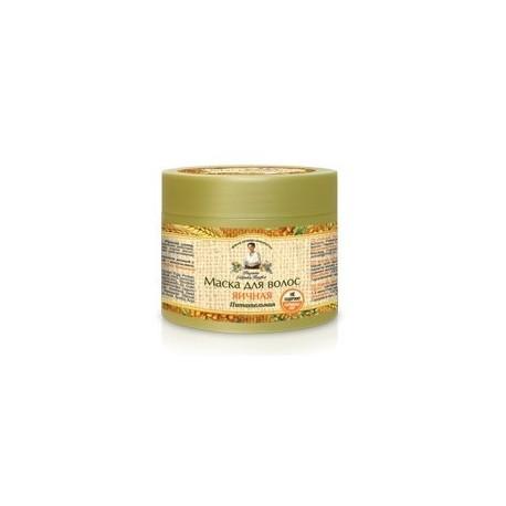 Receptury Babuszki Agafii, Jajeczna maska do włosów, 300 ml