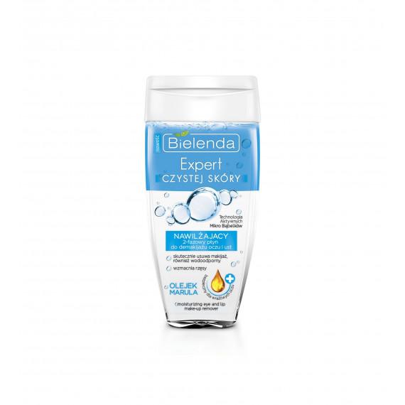 Bielenda, Expert Czystej Skóry, Nawilżający 2-fazowy płyn do demakijażu, 150 ml