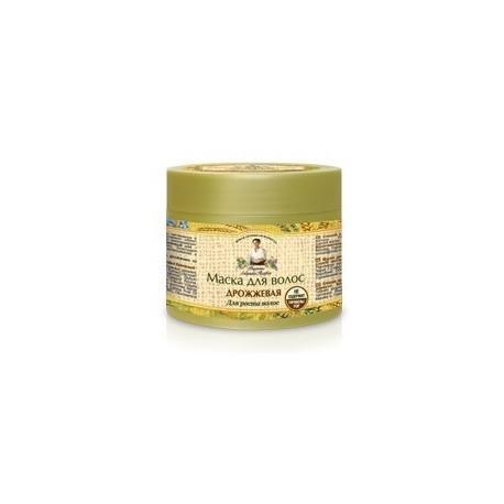 Receptury Babuszki Agafii, Drożdżowa maska do włosów, 300 ml