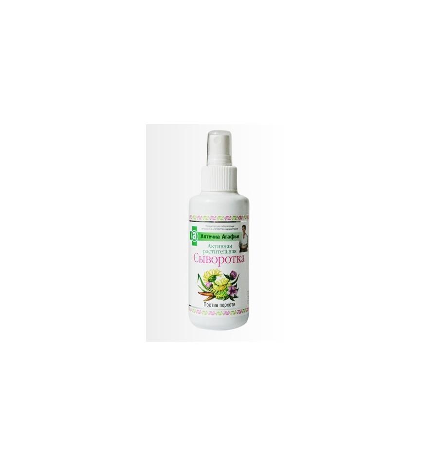 Apteka Agafii, Aktywne serum ziołowe przeciwłupieżowe, 150 ml