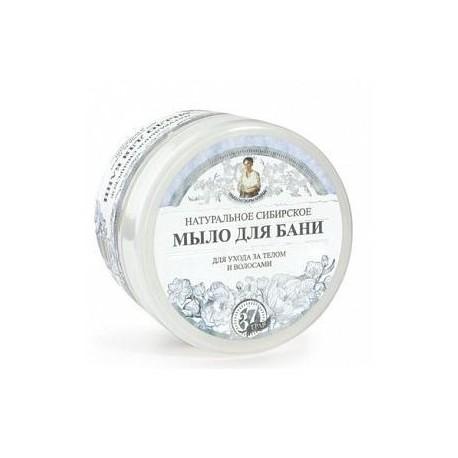 Pervoe Reshenie, Naturalne Białe Mydło Babuszki Agafii, 500 ml