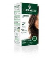 Herbatint, Trwała farba do włosów, 4C POPIELATY KASZTAN seria popielata