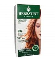 Herbatint, Trwała farba do włosów, 8R JASNY MIEDZIANY BLOND, seria miedziana