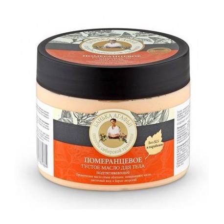 Bania Agafii, Pomarańczowe gęste masło do ciała, podciągające, 300 ml
