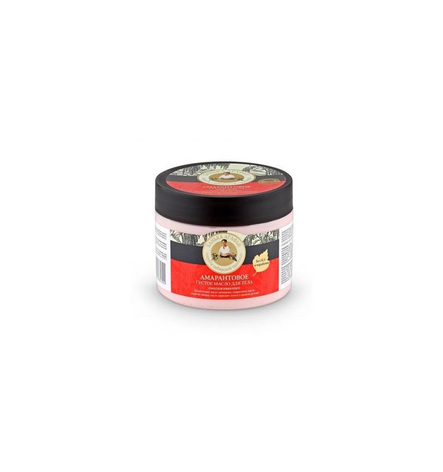 Bania Agafii, Amarantowe gęste masło do ciała, odmładzające, 300 ml