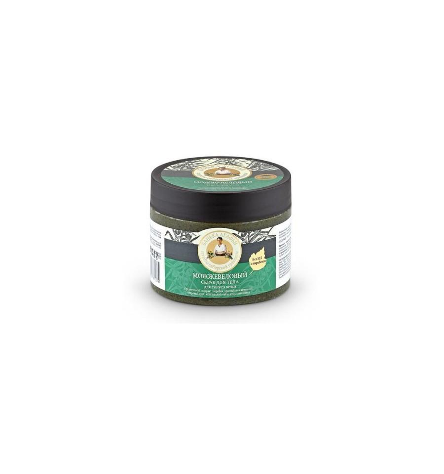 Bania Agafii, Scrub do ciała jałowcowy, tonizujący, 300 ml