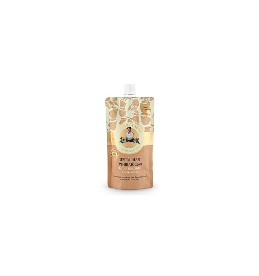Bania Agafii, Maska do twarzy oczyszczająca, dziegciowa, 100 ml