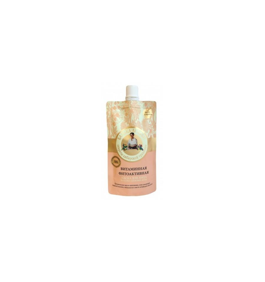 Bania Agafii, Maska do twarzy witaminowa, fitoaktywna, 100 ml