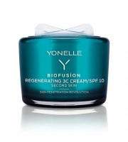 Yonelle, BIOFUSION, Krem regenerujący 3C SPF 10, 55 ml