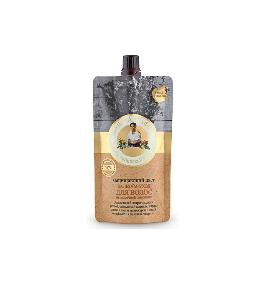 Bania Agafii, Balsam do włosów, Ochrona koloru włosów farbowanych, 100 ml