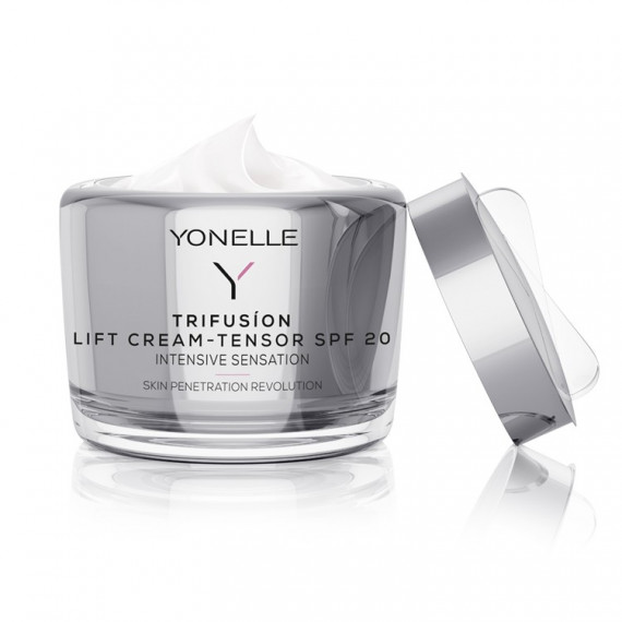 Yonelle, TRIFUSION, Liftingujący krem-napinacz SPF 20, 55 ml