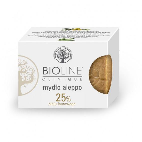 Bioline, Mydło Aleppo 25% oleju laurowego, 200 g