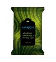 Marion, Chusteczki odświeżające Green Tea, 12 szt