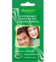 Marion, Oczyszczający płatek na nos z zieloną herbatą, 1 szt
