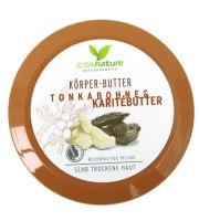 Cosnature, Naturalne odżywcze masło do ciała z masłem shea i tonką, 200 ml