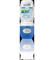 Lavera, Dezodorant roll-on FRESH z wyciągiem z bio-mięty i trawy cytrynowej, 50 ml
