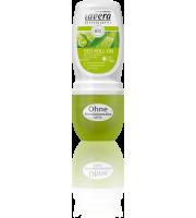 Lavera, Dezodorant roll-on z werbeną i limonką z upraw ekologicznych, 50 ml