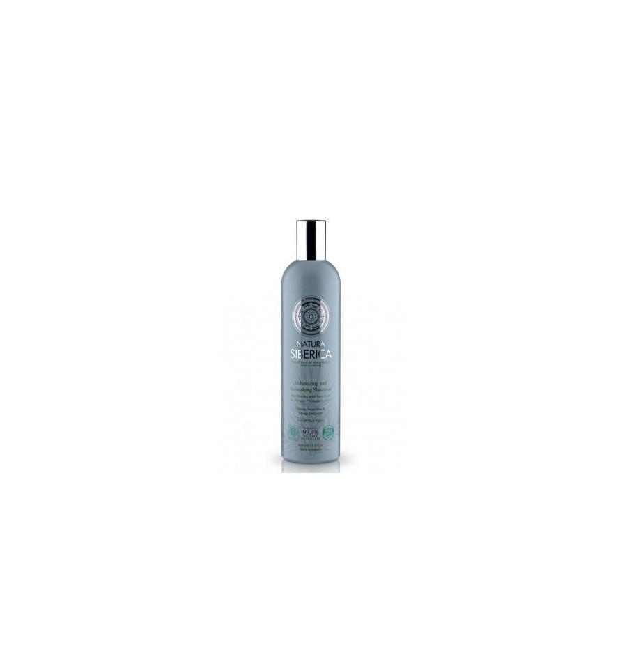 Natura Siberica, Szampon Objętość i pielęgnacja, dla wszystkich typów włosów, 400 ml