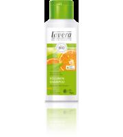 Lavera, Szampon do włosów cienkich i delikatnych z bio-pomarańczy i bio-zieloną herbatą, 200 ml