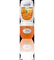 Lavera, Dezodorant roll-on z pomarańczą i rokitnikiem z upraw ekologicznych, 50 ml