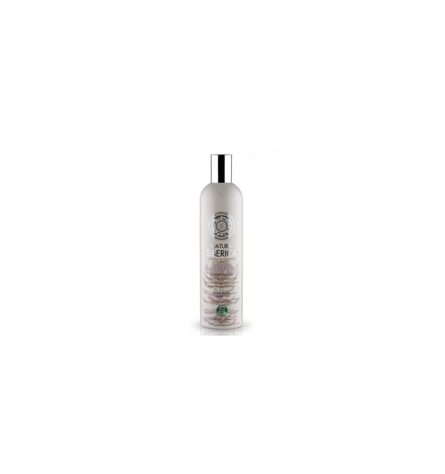 Natura Siberica, Balsam Ochrona i energia, dla włosów osłabionych i zniszczonych, 400 ml
