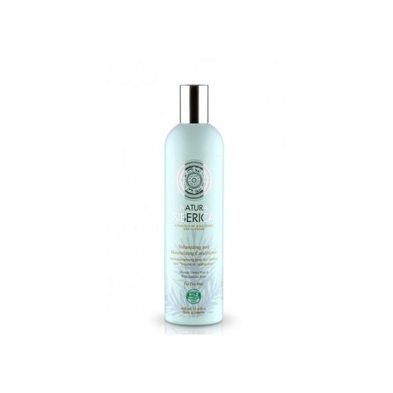 Natura Siberica, Balsam Objętość i nawilżenie, dla włosów suchych, 400 ml