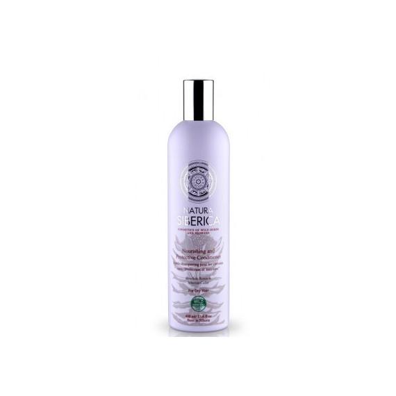 Natura Siberica, Balsam Ochrona i odżywienie, dla włosów suchych, 400 ml