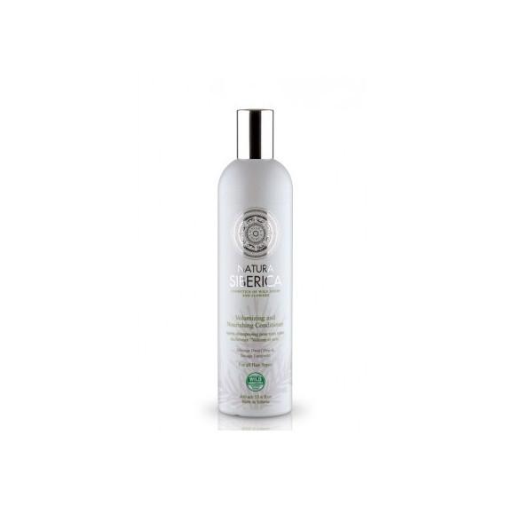 Natura Siberica, Balsam Objętość i pielęgnacja, dla wszystkich typów włosów, 400 ml