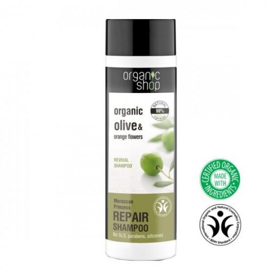 """Organic Shop, Szampon do włosów REGENERACJA """"Maroccan Princess"""", 280 ml"""