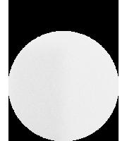 Kryolan, Gąbka z poliuertanu do podkładu biała, 1 szt