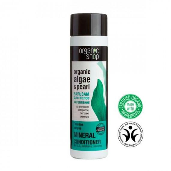 """Organic Shop, Balsam do włosów WZMOCNIENIE """"Blue Lagoon"""", 280 ml"""