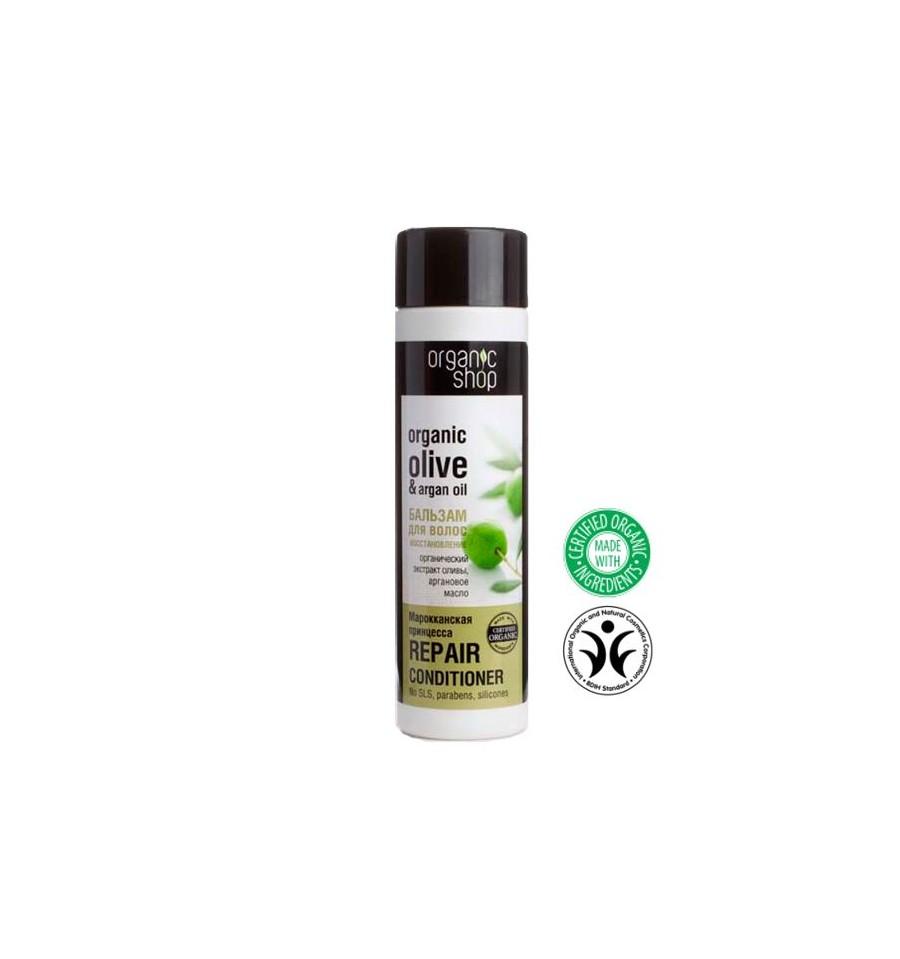"""Organic Shop, Balsam do włosów REGENERACJA """"MAROCCAN PRINCESS"""", 280 ml"""