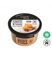 Organic Shop, Organiczny scrub do ciała CINNAMON & HONEY, 250 ml