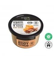 Organic Shop, Organiczny scrub do ciała CINNAMON & HONEY, 250 ml