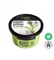 Organic Shop, Organiczny peeling do ciała BAMBOO & SEA SALT, 250 ml