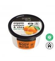 """Organic Shop, Masło do ciała """"Mandarynki Sewilli"""" - masło shea, ekstrakt mandarynki, 250 ml"""