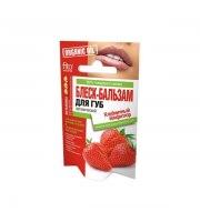 Fitokosmetik, Organic Oil, Organiczny balsam do ust – Dżem truskawkowy, 10 g