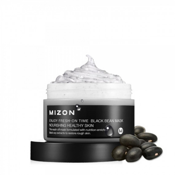 Mizon, Maska do twarzy Czarna Fasola, Black Bean Mask, 100 ml
