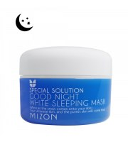 Mizon, Wybielająca maska na noc, Good Night White Sleeping Mask, 80 ml
