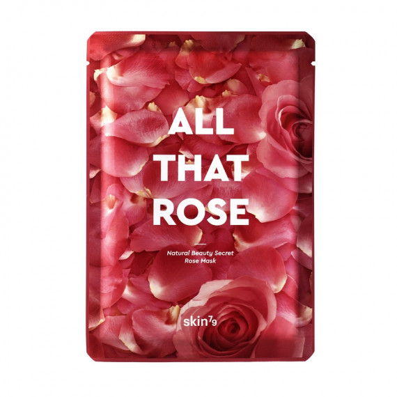 Skin79, All That Rose Mask - Glow & Moisturizing, 25 g