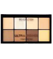 Makeup Revolution, PRO HD CREAM, Kremowy zestaw do konturowania FAIR/MEDIUM, 20 g