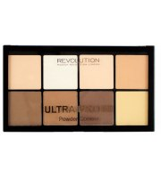 Makeup Revolution, PRO HD POWDER, Pudrowy zestaw do konturowania FAIR, 20 g