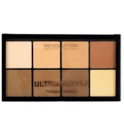 Makeup Revolution, PRO HD POWDER, Pudrowy zestaw do konturowania LIGHT/MEDIUM, 20 g