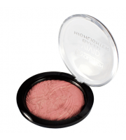 Makeup Revolution, Rozświetlacz Vivid Baked Highlighter, Rose Gold Lights, 7 ,5 g