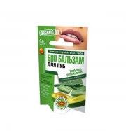 Fitokosmetik, Organic Oil, Organiczny balsam do ust – Głębokie nawilżenie, 10 g