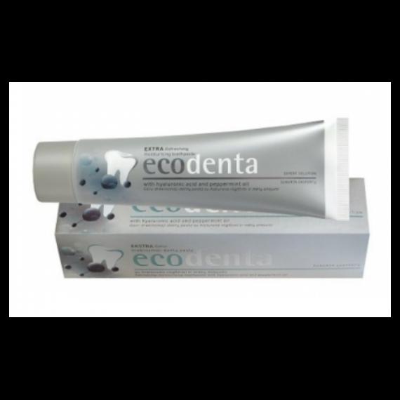 Ecodenta, Pasta do zębów odświeżająco-nawilżająca z kwasem hialuronowym, 100 ml
