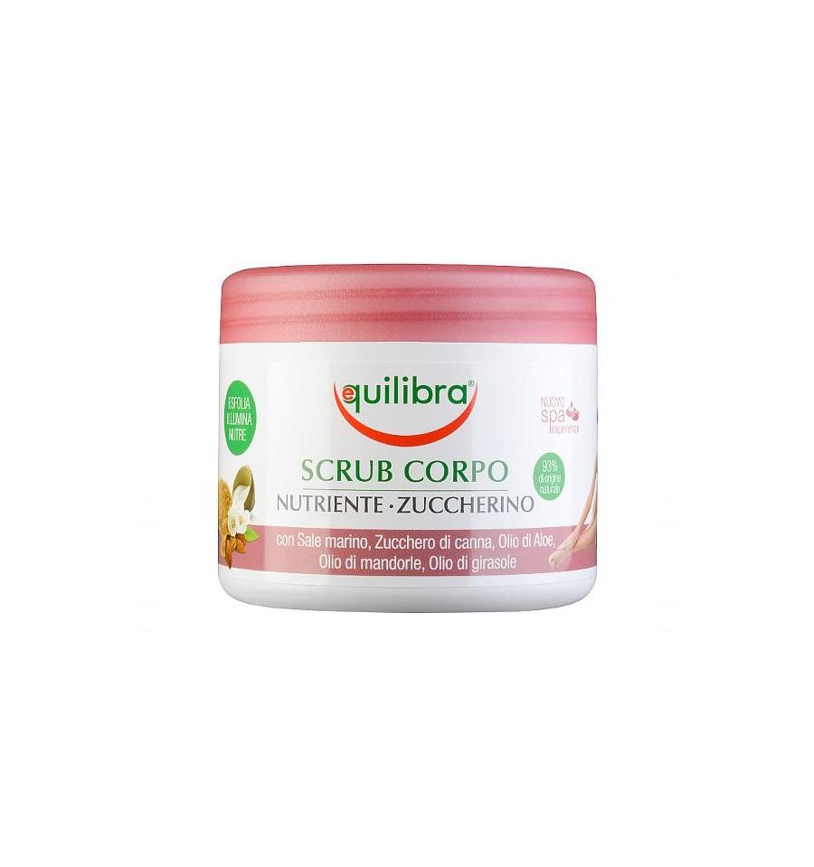 Equilibra, Odżywczy peeling cukrowy do ciała, 550g