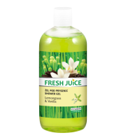 Fresh Juice, Żel pod prysznic Lemongrass & Vanilla, 500 ml