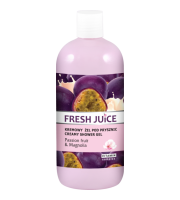 Fresh Juice, Żel pod prysznic Passion fruit & Magnolia, 500 ml